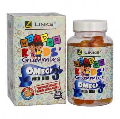 Links Wonder Gummies Omega 3 60s