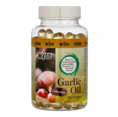 Wyse Garlic Oil 1000mg
