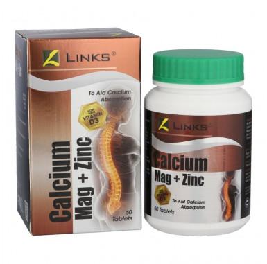 Links Chelated Calcium Mag Plus Zinc